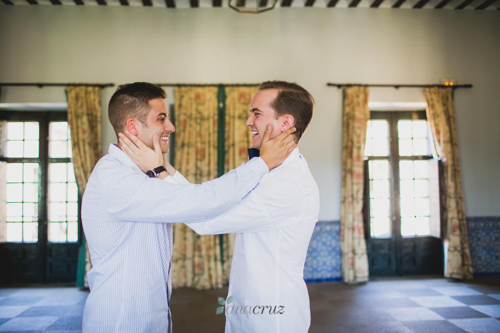 Fotografía de boda :: Cristina & Jorge :: Madrid anacruz057-9900-1