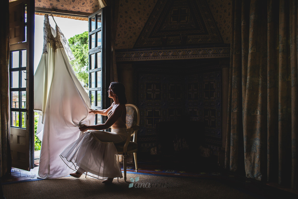 Fotografía de boda :: Cristina & Jorge :: Madrid anacruz211-9912-1