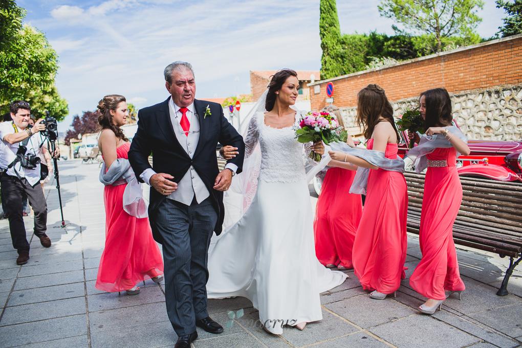 Fotografía de boda :: Cristina & Jorge :: Madrid anacruz328-9925-1