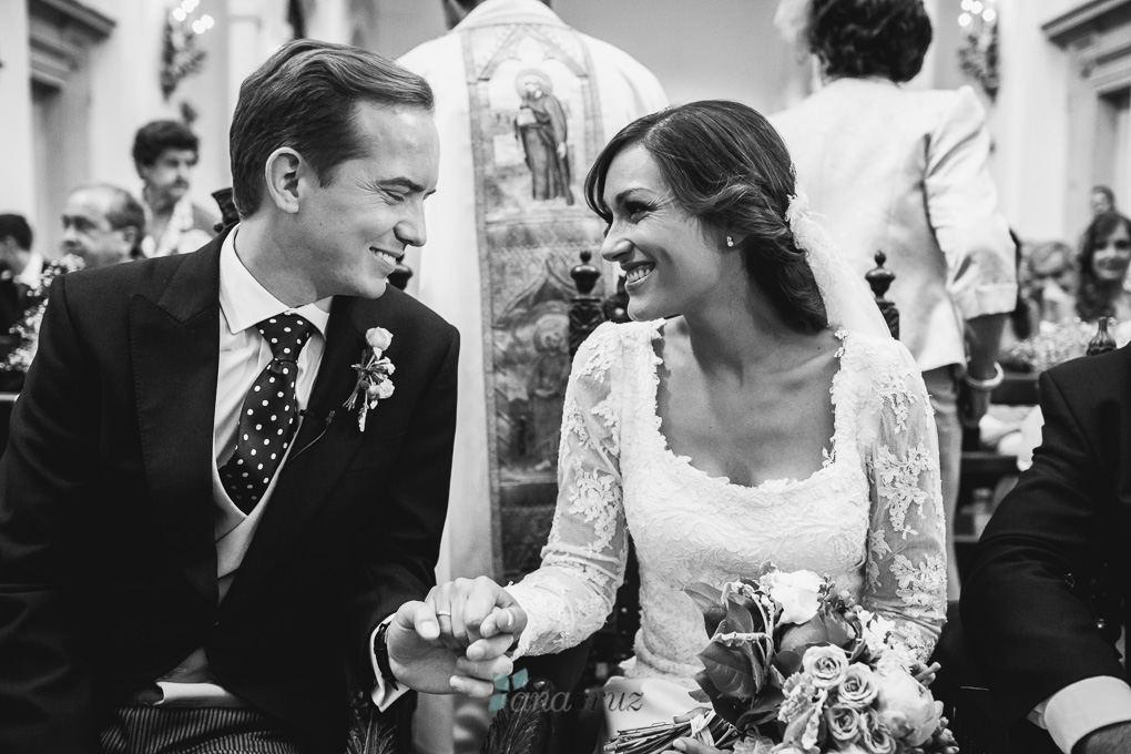 Fotografía de boda :: Cristina & Jorge :: Madrid anacruz450bn-9934-1