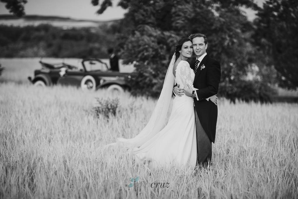 Fotografía de boda :: Cristina & Jorge :: Madrid anacruz735bn-994d-1