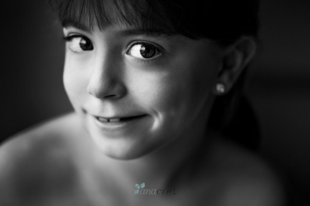Fotografía de niños :: Maria en blanco y negro G5P5400_3