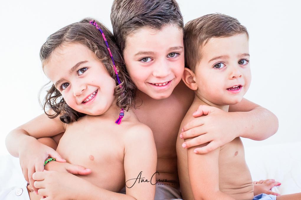 Portfolio de estudio bebés y niños NAC1407