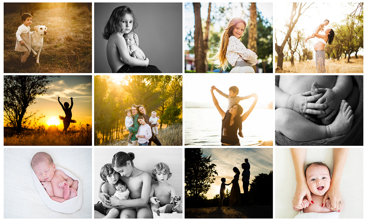 Todas las sesiones de fotos bebes, niños y familia MOSAICO-PARA-SOBRE-MI